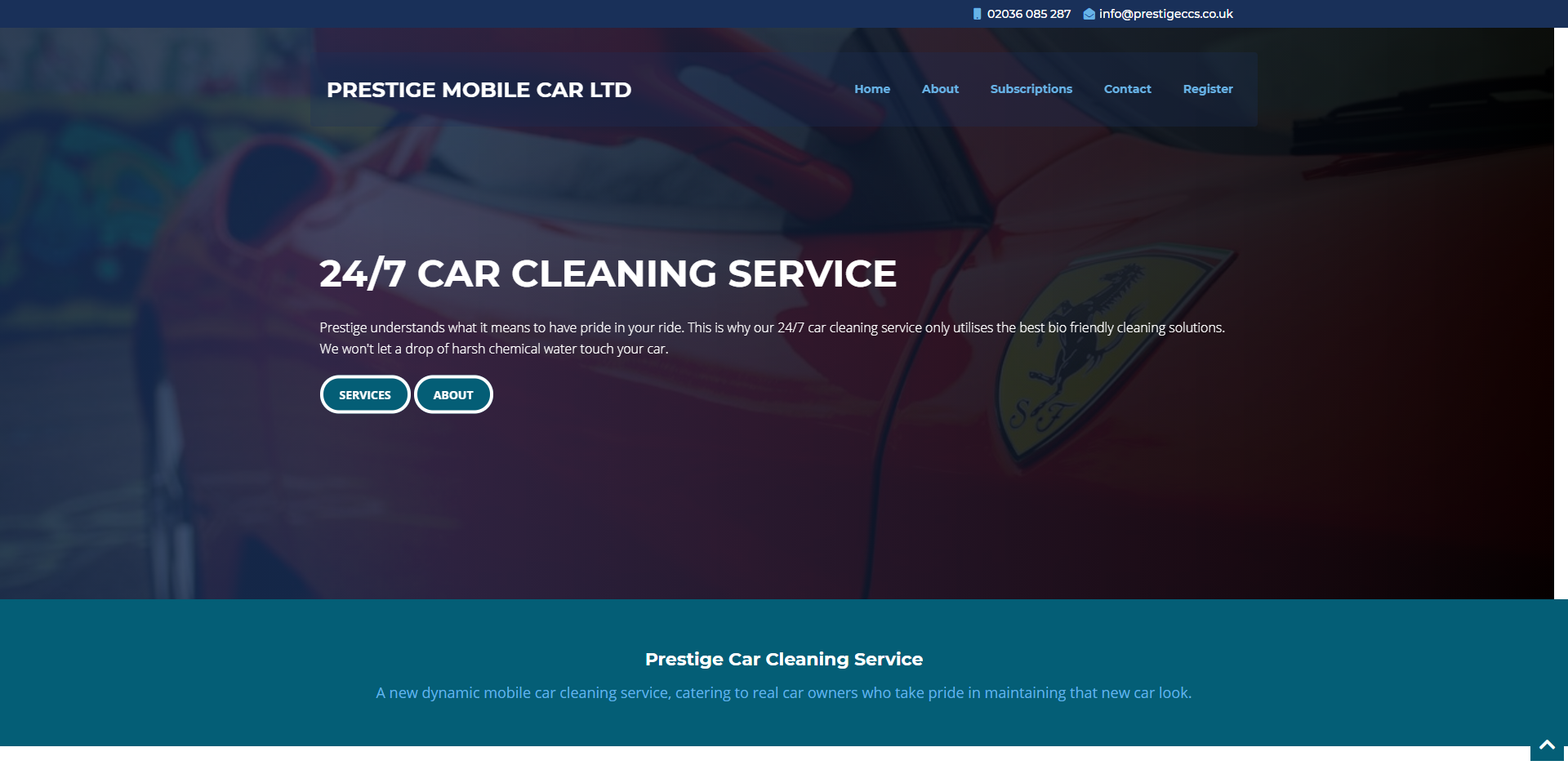 Prestige Car Cleaning Services